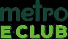 Metro E-Club Logo