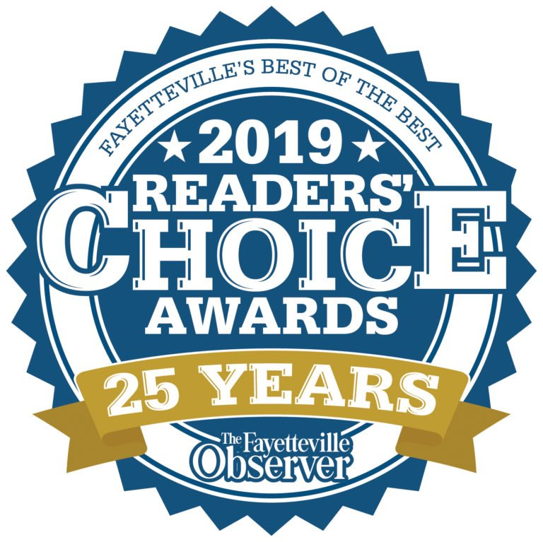 Readers' Choice Awards, Fayetteville