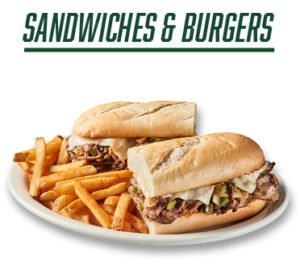 Sandwiches and Burgers - Image of Sandwich and French Fries