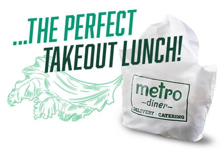 The perfect takeout lunch