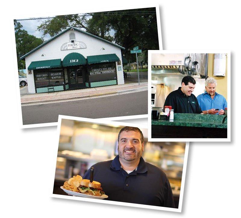 Original Metro Diner, Guy Fieri, Chef Mark Davoli