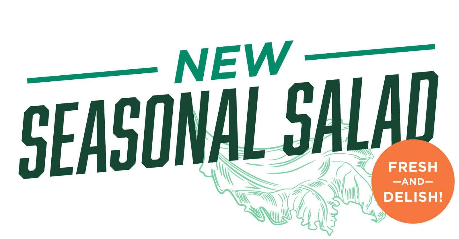 New! Seasonal Salad